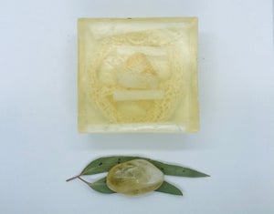 Citrine Soap with Loofah