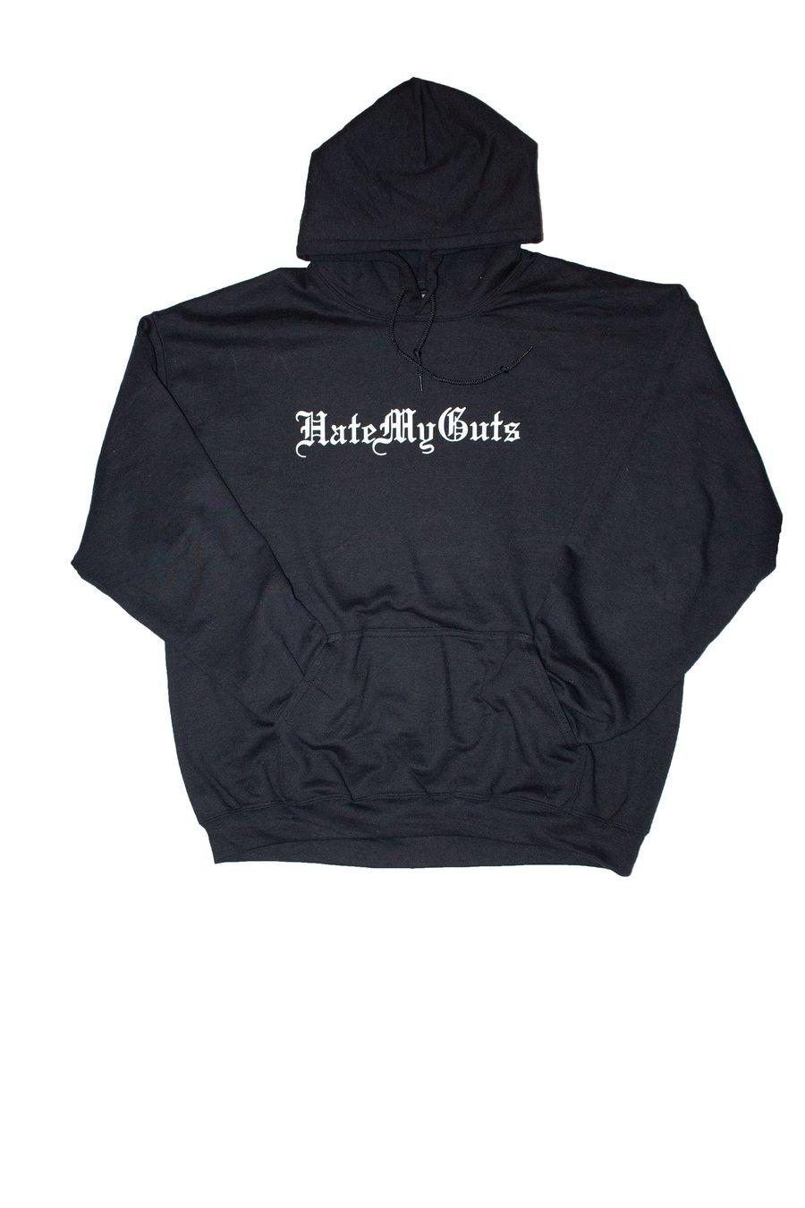 Image of HateMyGuts script hoodie