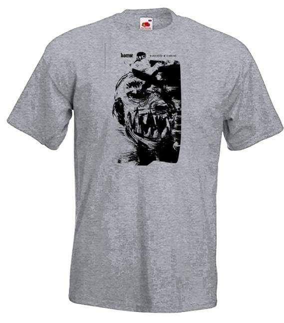 Image of horror t shirt