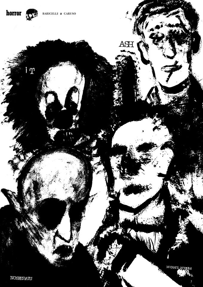 Image of Horror family poster