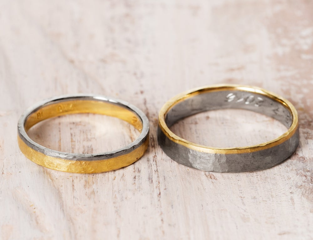 Image of FAIR GOLD bridal bands