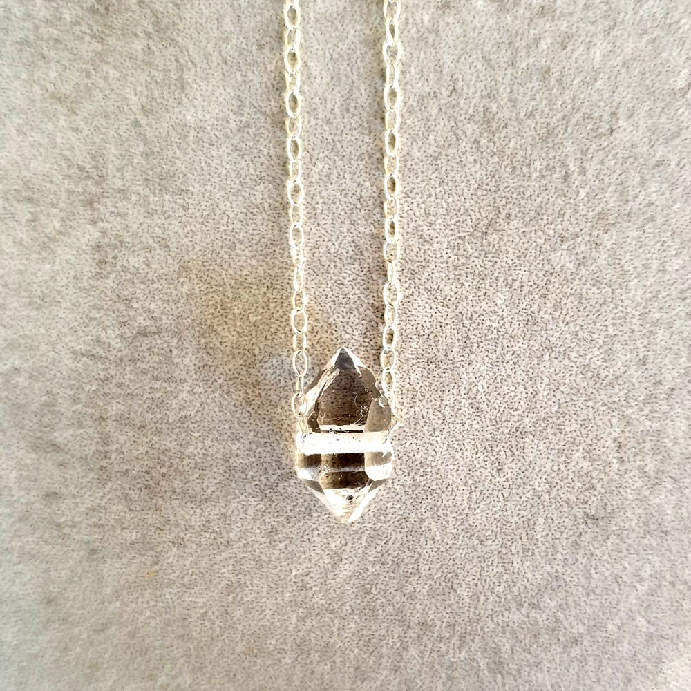 Image of HERKIMER DIAMOND Necklace - Solitaire