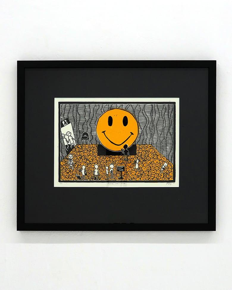 Image of Poppy Williams 'Please wait here'. Original artwork 2020