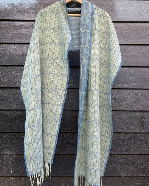 Image of Apple & Marlin 'Feathers' shawl