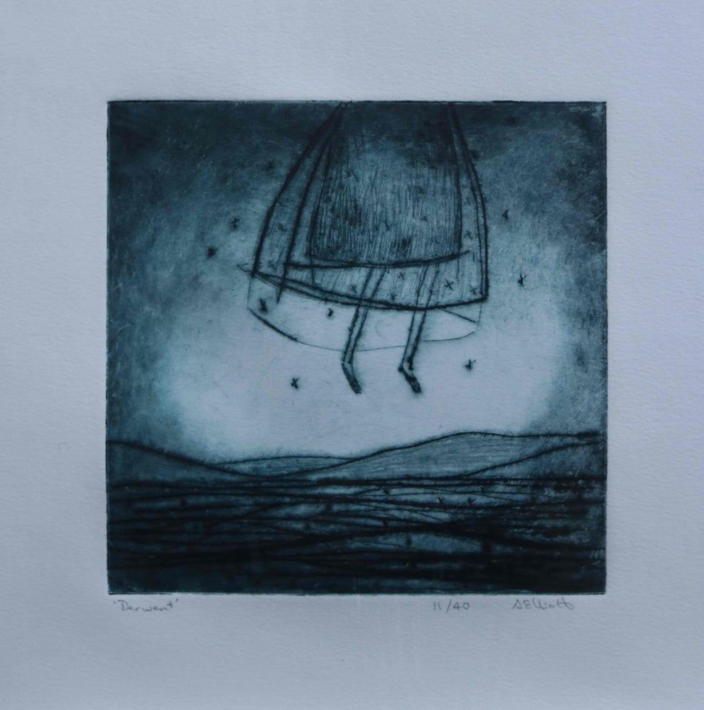 Image of Derwent ~ Drypoint Etching