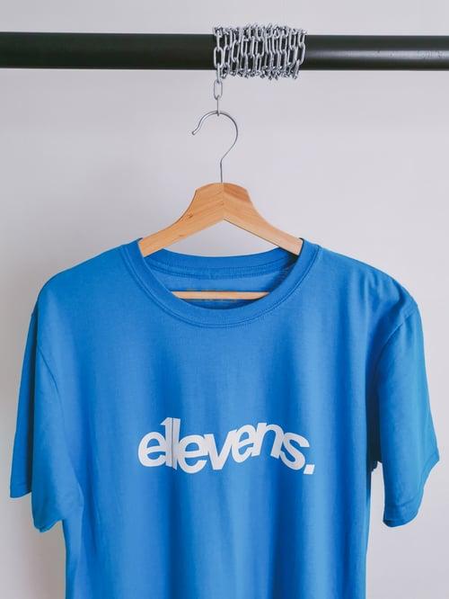 Image of E11evens Classic design - Blue tee