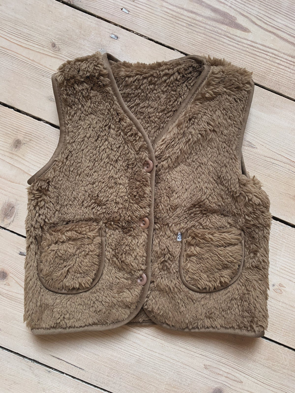 Image of THE PRINCE VEST - CHOCOLATE