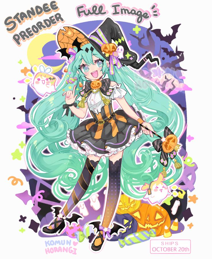 Image of Halloween Miku Standee PREORDER SHIPS OCT 20