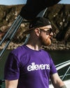 E11evens Classic design - Purple tee
