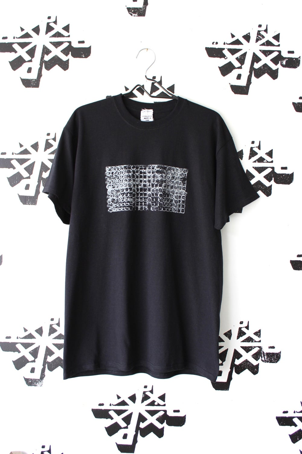locked and loaded tee in black