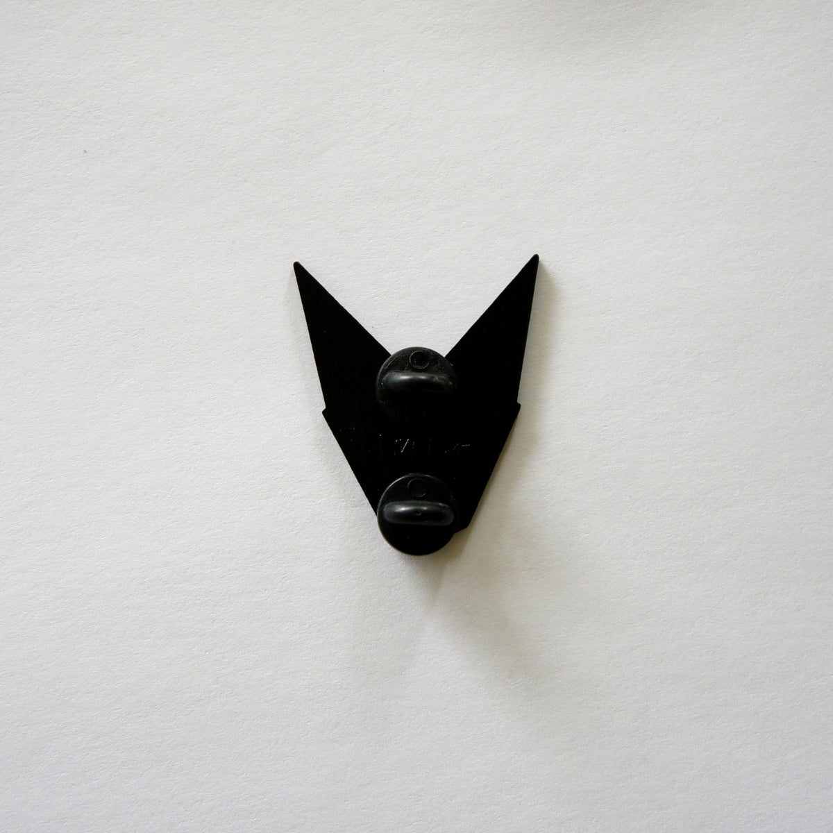Black Bat Enamel Pin