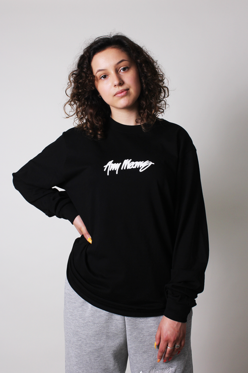 Image of Signature Longsleeve in Black