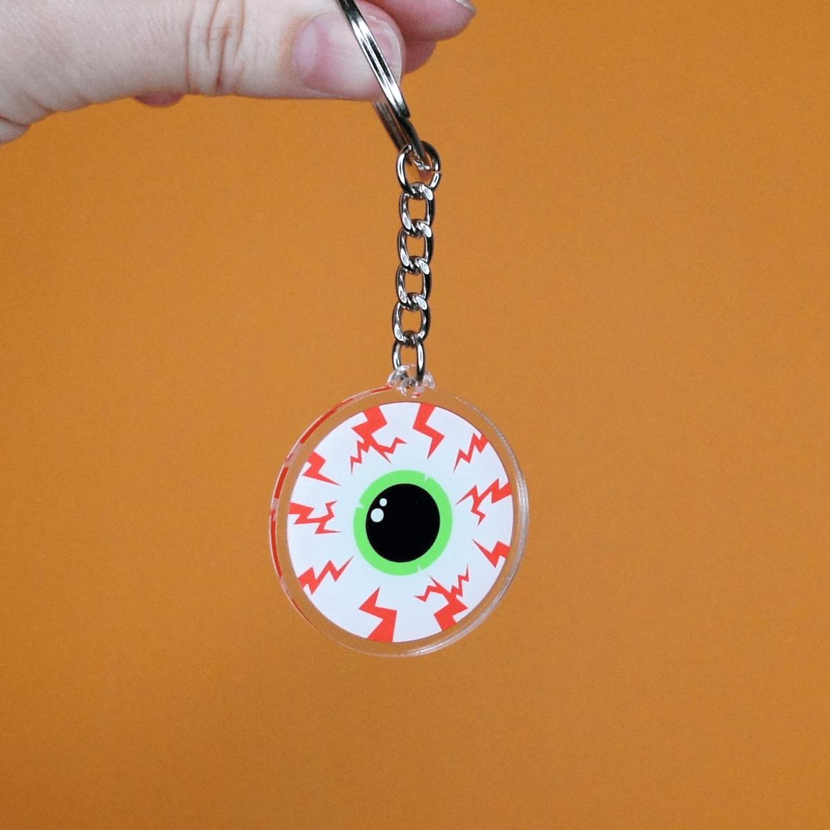 Eyeball Acrylic Keychain