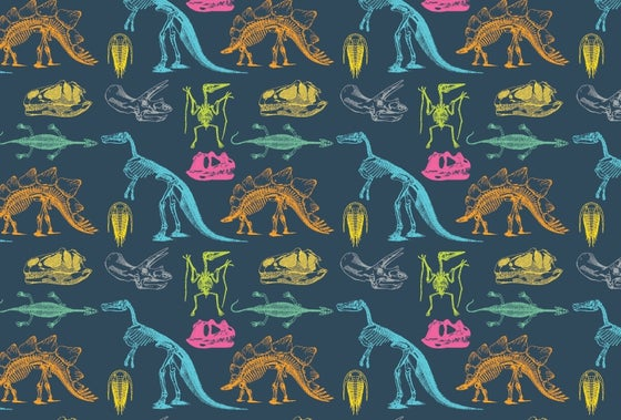 Image of Dinosaur Wrapping Paper