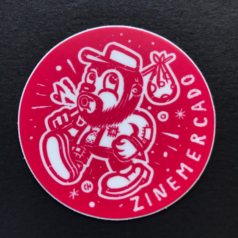 Image of ZINEmercado small red