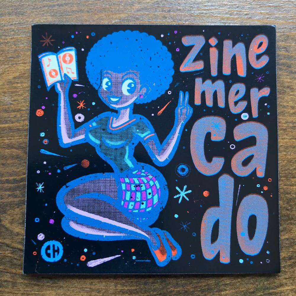 Image of ZINEmercado reading girl