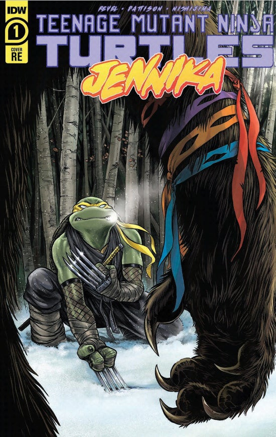 Image of TMNT: Jennika #1 BCC Exclusive  -with remark/sketch!