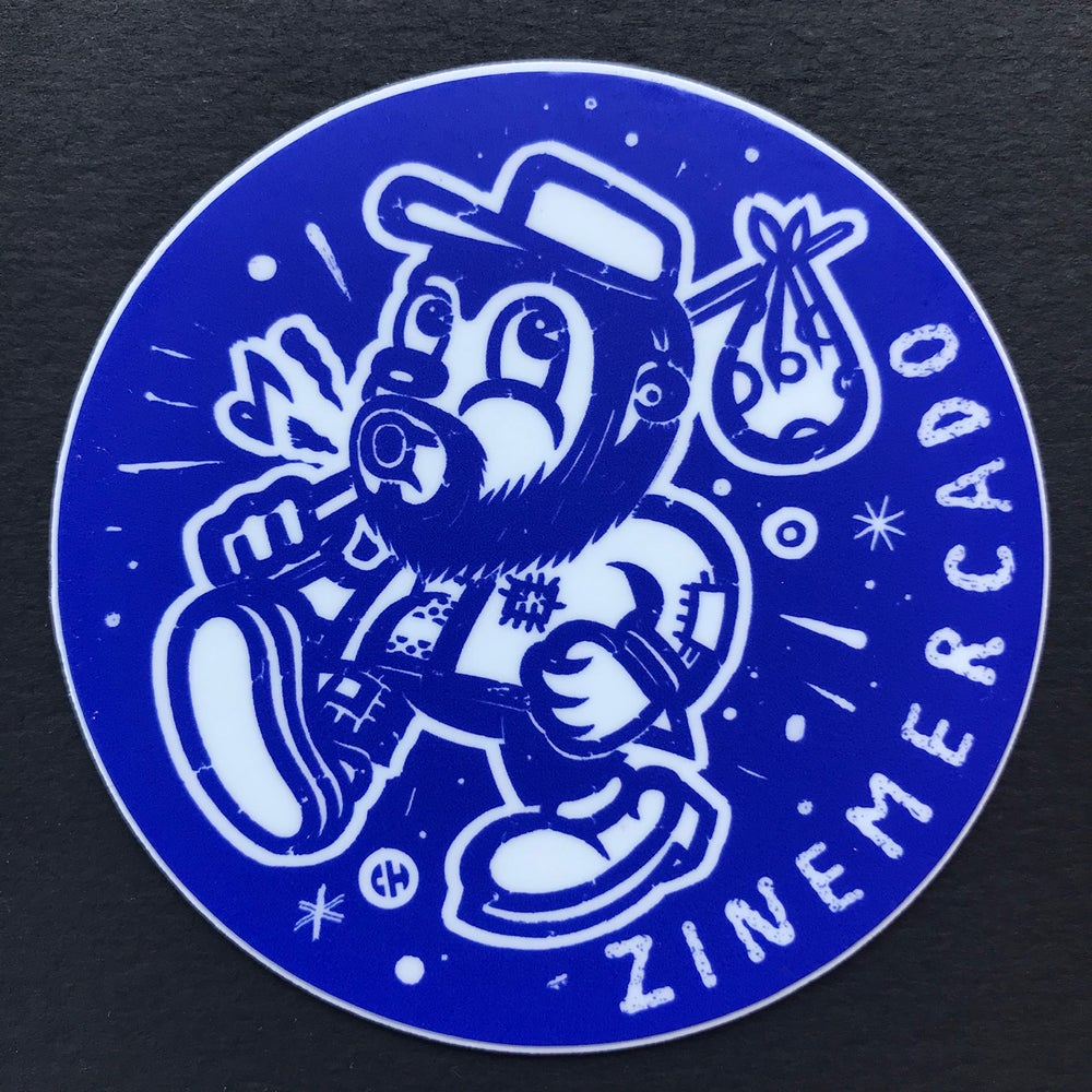 Image of ZINEmercado big blue