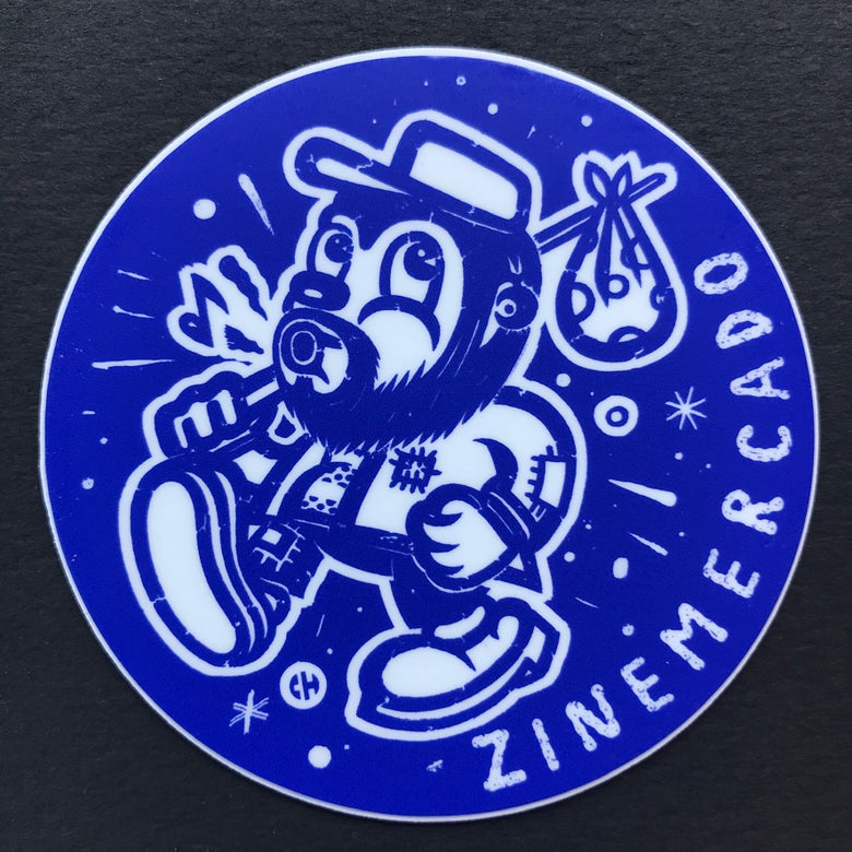 Image of ZINEmercado big blue