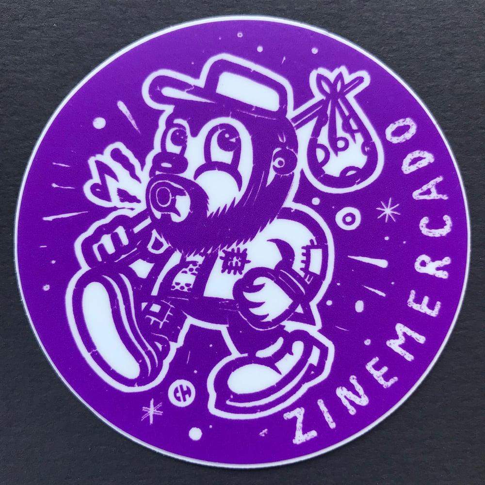 Image of ZINEmercado big purple