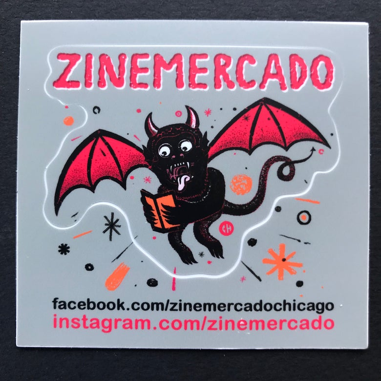 Image of ZINEmercado reading devil