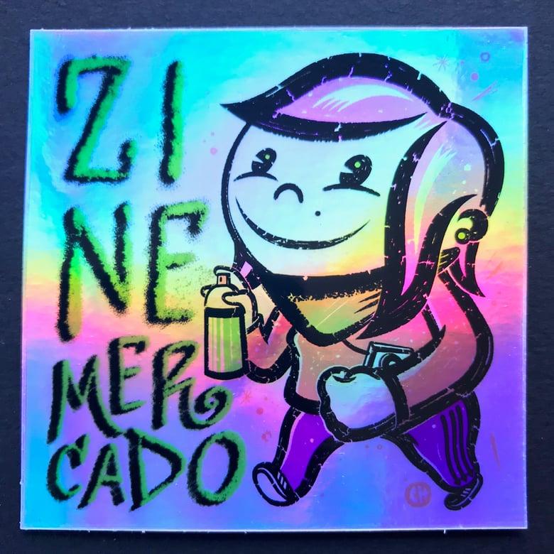 Image of ZINEmercado graff gal