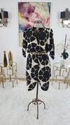 Leopard Print 100% Silk Dress