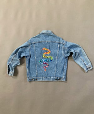 Image of Snake Jean Jacket