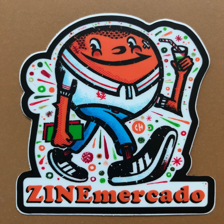Image of ZINEmercado Orange Boi