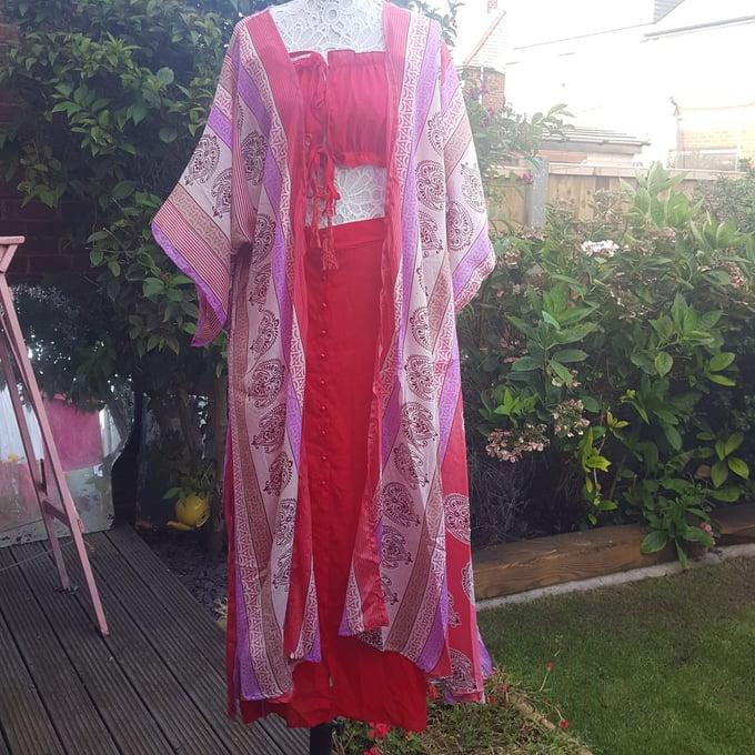 Image of Katie kaftan kimono dress