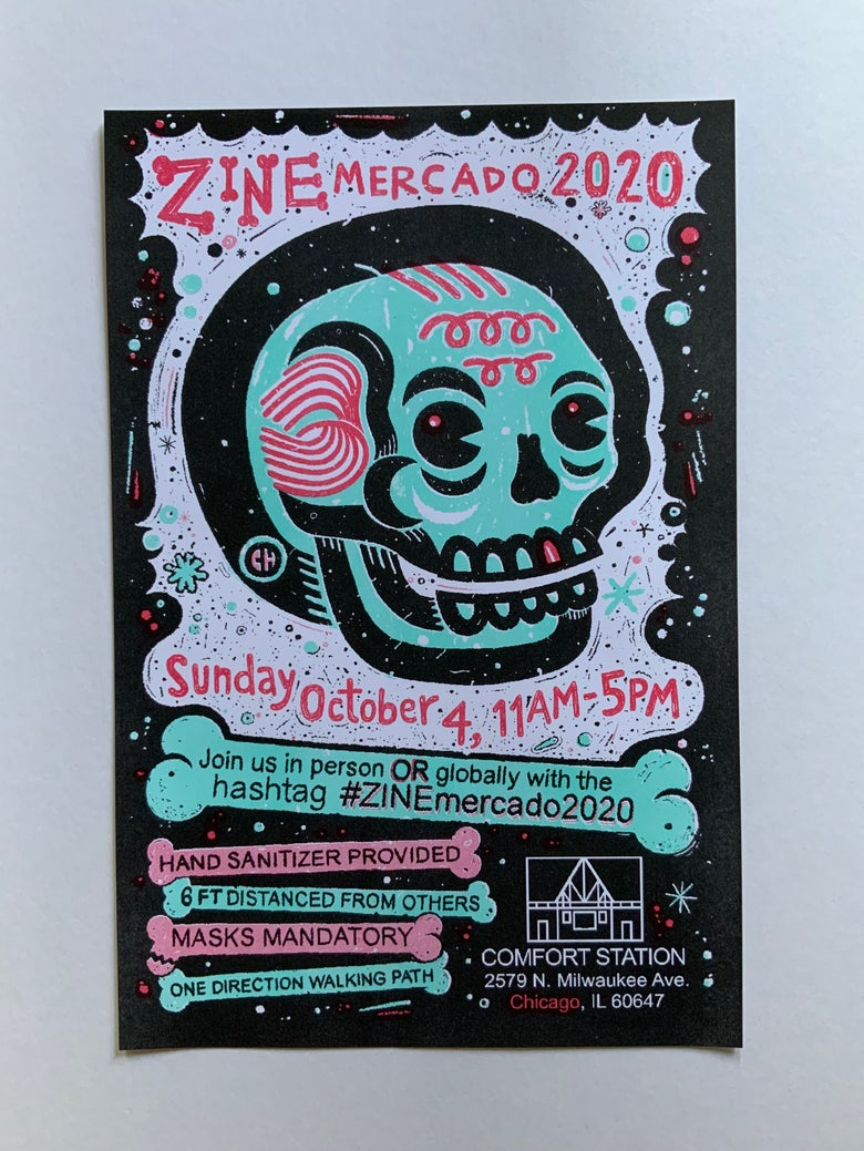 Image of ZINEmercado 2020 - 6 LEFT !