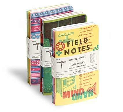Image of Field Notes #48 United States of Letterpress