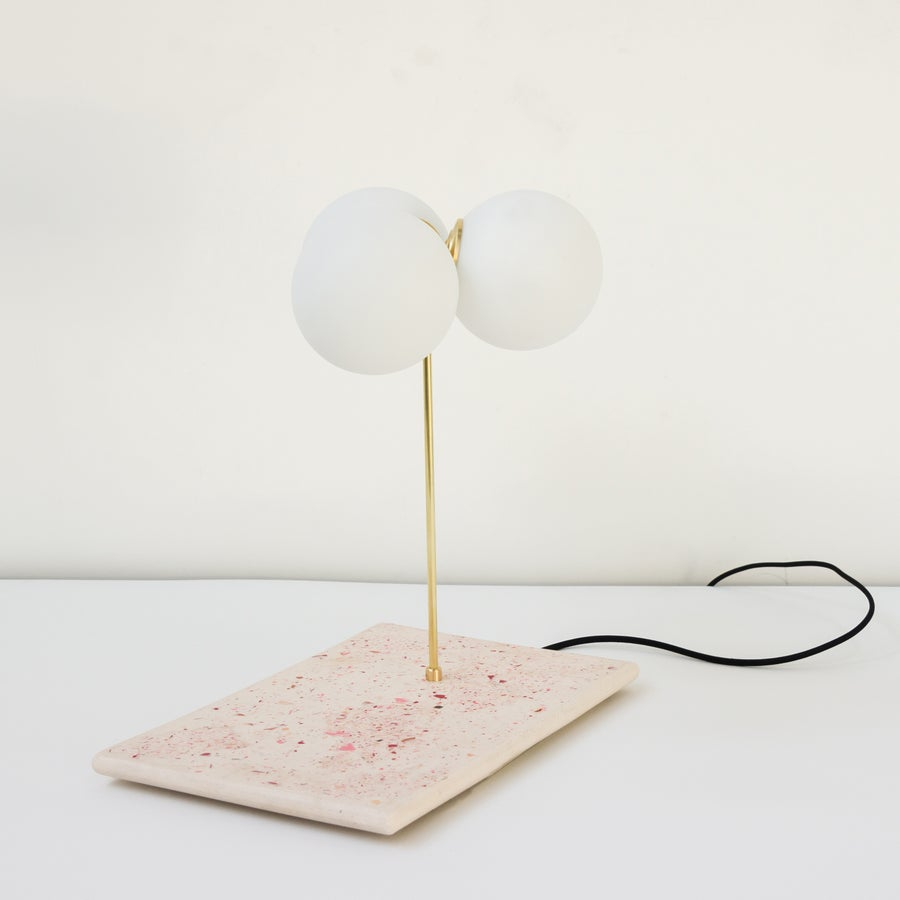 Image of Table lamp 2 Les pieds de biches X Gobolights