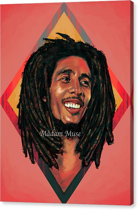 """Image of """"Bob Marley"""" Limited Edition Canvas Prints"""