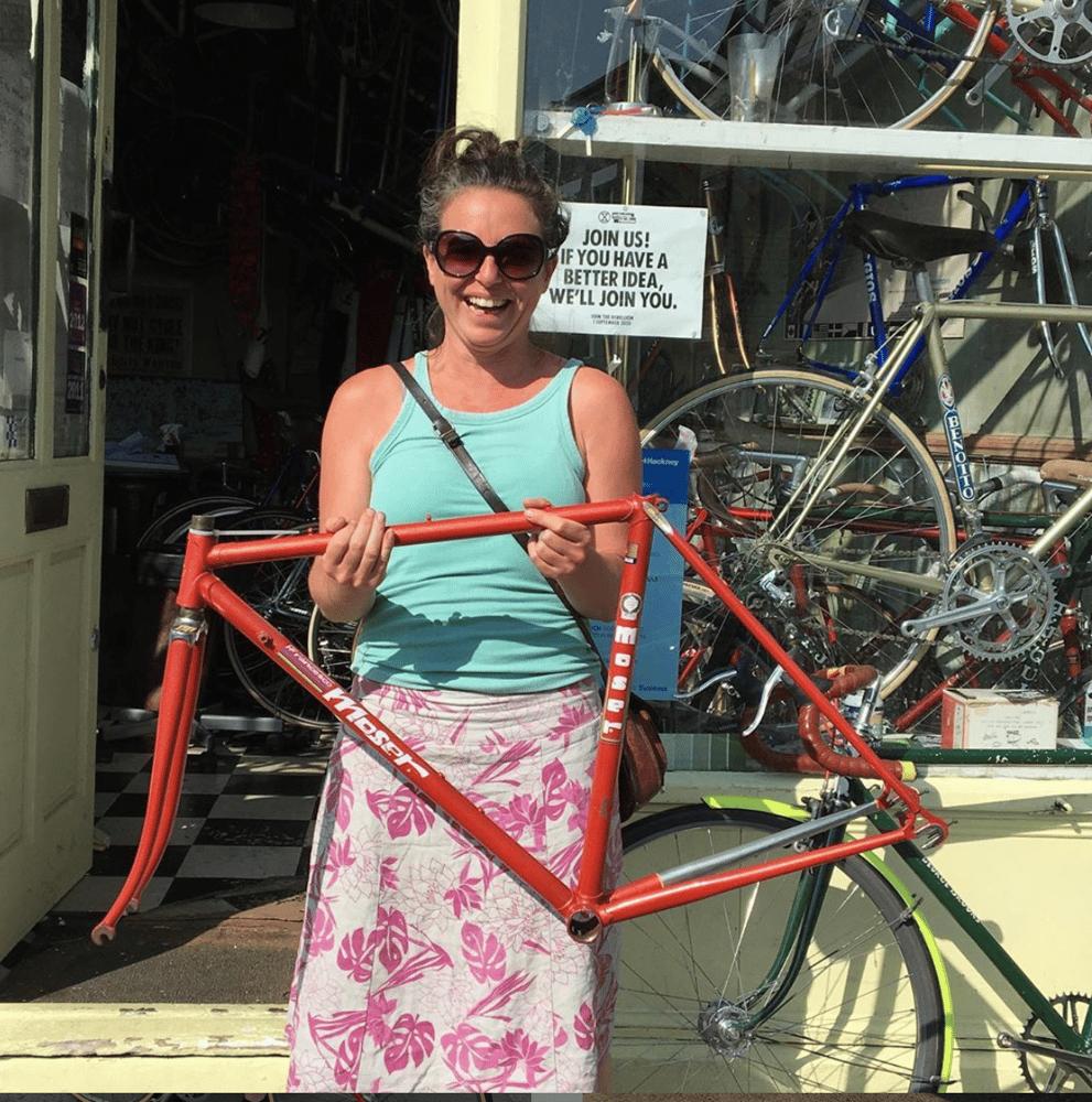Image of Moser road bike frame 49cm