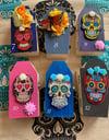 Coffin-Dia De Los Muertos