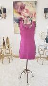 Net Back Bandage Body Conscious Dress