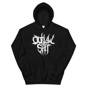 Image of OutlawShit Metal Edition Hoodie (White Design)