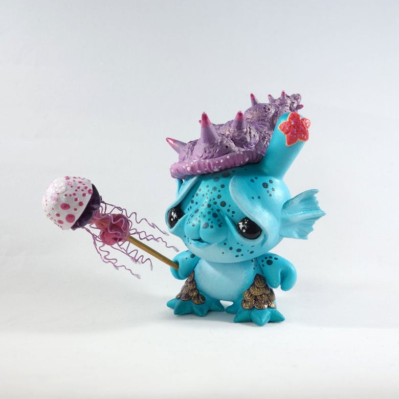 "Image of Shelba- 3"" custom Kidrobot Dunny"