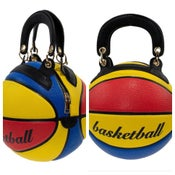 Image of Multi basketball purse