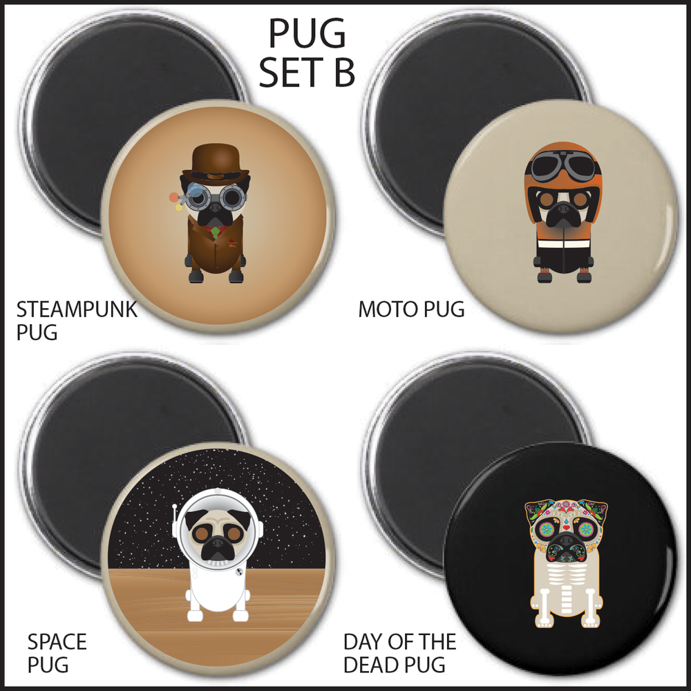 PUG MAGNET SETS