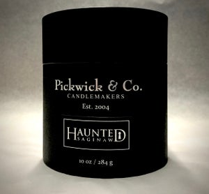 Image of Haunted Saginaw Scented Candle by Pickwick & Co.