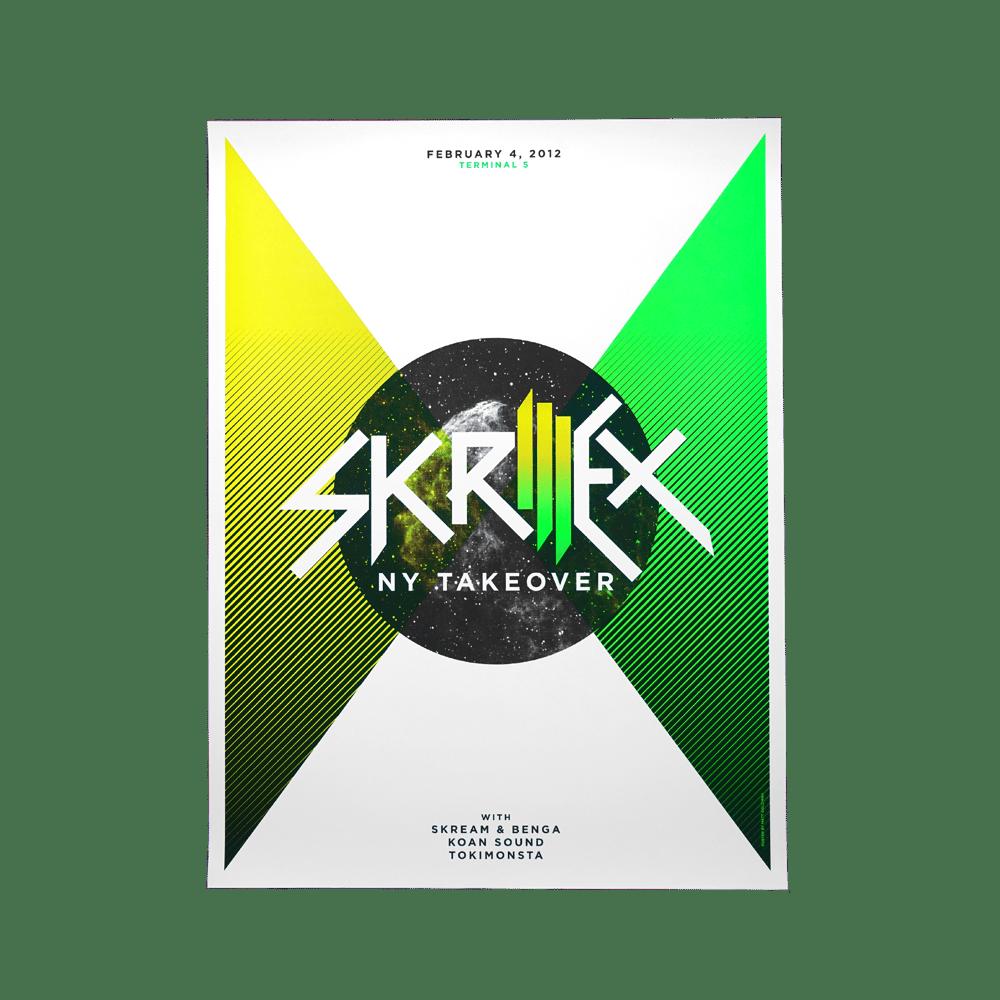 2012 Skrillex  | NY Takeover | Poster 5