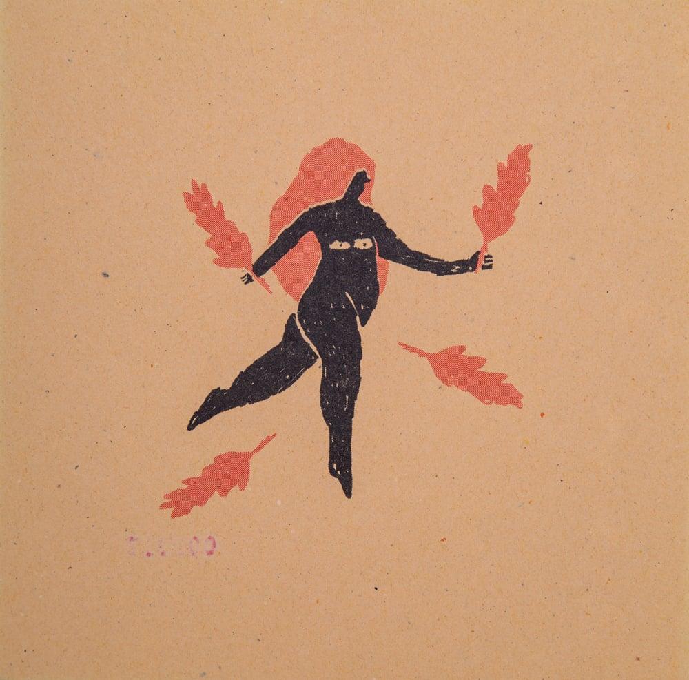 "Image of ""DANZA DE HOJAS 01"" Anler"