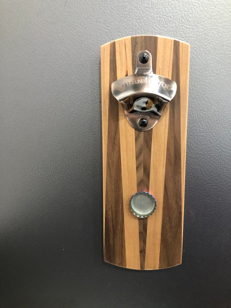Image of Modern Magnetic Bottle Opener 2 - Fruits and Nuts