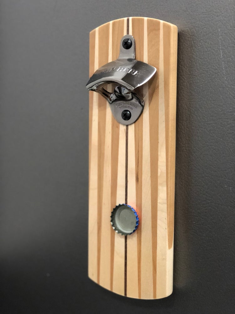 Image of Modern Magnetic Bottle Opener 3 - Opposing Sides