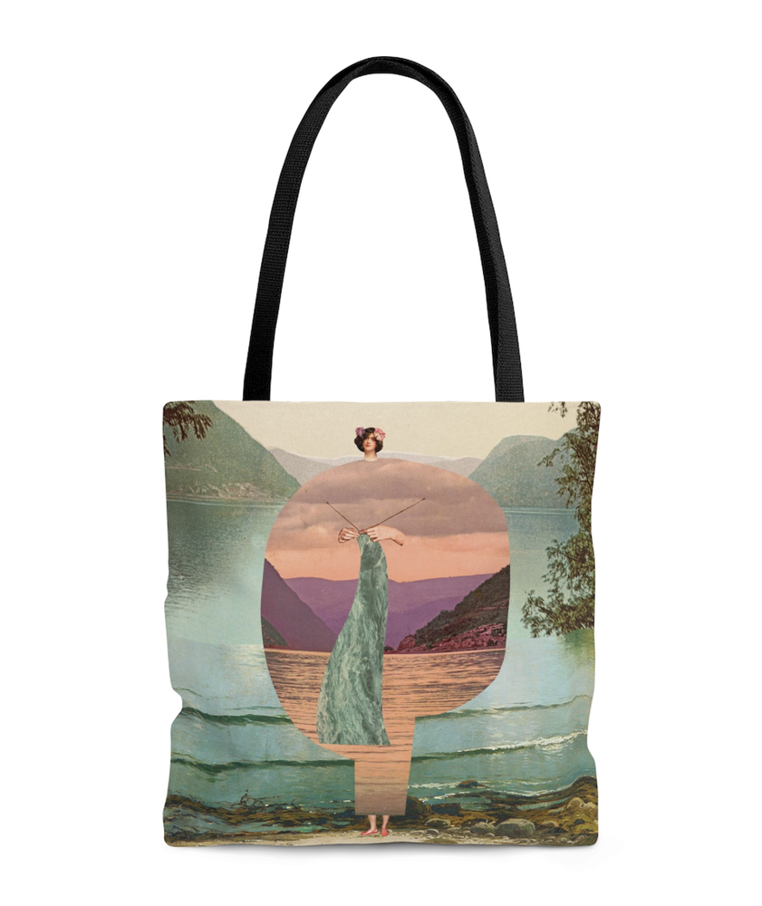 Image of Plate No.380 tote bag