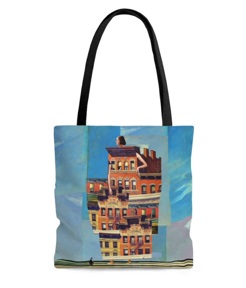 Image of Plate No.185 tote bag