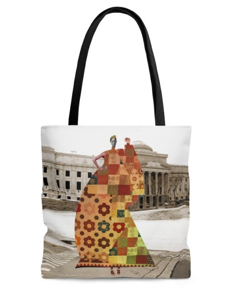 Image of Plate No.231 tote bag