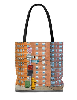 Image of Plate No.81 tote bag
